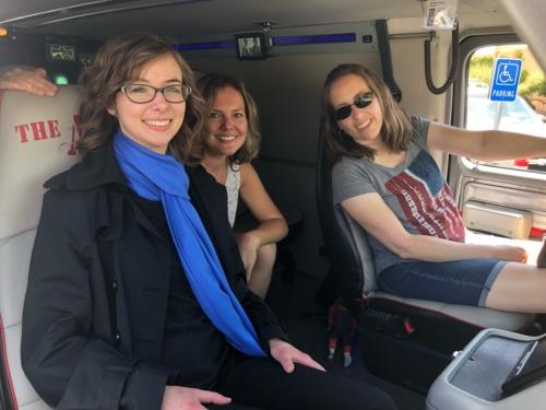 A-Team van inside