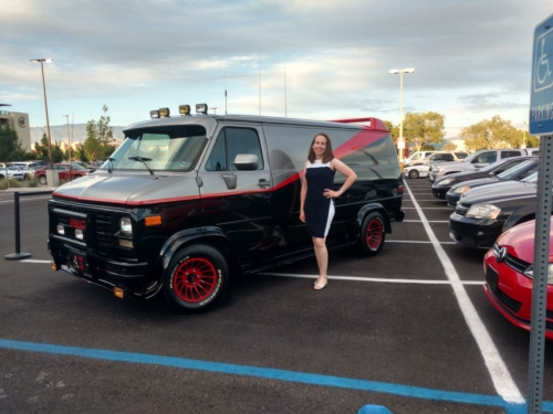 Tiffany A-Team van